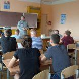 Священник провел духовную беседу с воспитанниками летнего лагеря отдыха