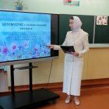 В средней школе №1 Кировска преподавателем воскресной школы проведено занятие с учениками