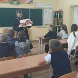 Урок православной культуры в школе Туголицы