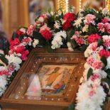 Епископ Серафим совершил Божественную литургию в храме иконы Божией Матери «Целительница»